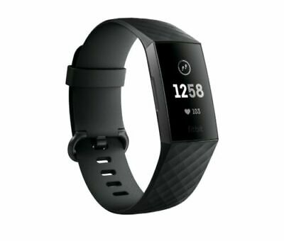 NEW Fitbit Charge 3 Fitness Activity Tracker Heart Rate Pebble WITHOUT BAND