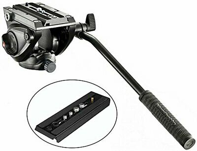 Manfrotto MVH500AH Pro Fluid Video Tripod Head with Flat Base and a Extra Ivatio