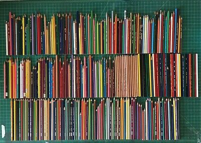 300 + New & Used Preowned PRISMACOLOR PENCILS LOT of Premier verithin Eagle