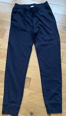 Skinny Navy Joggers Sweat Pants Age 11-12 Great For School Pe Boys Girls Unisex