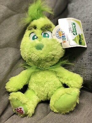 Build A Bear Baby Young Mini Grinch Who Stole Christmas Plush 7inch  SOLD OUT
