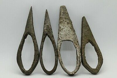 4 X Ancient Viking Norse Scandinavian Fire Strikers - Circa. 700-900Ad