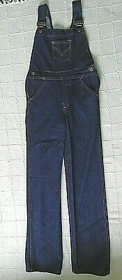 Vintage Denim Dungarees - Age 9-10 Years approx - Navy - New