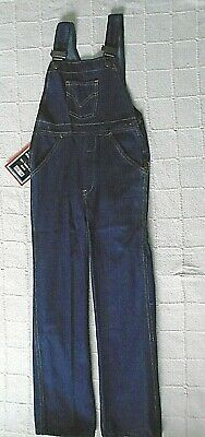 Vintage Denim Dungarees - Age 10-11 Years approx - Navy - New