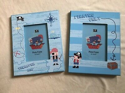 Kids childrens room - Two Pirate Photo Frames
