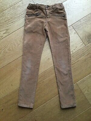Zara Mole Skin Jeans Trousers Brown Chestnut Age 8 Years
