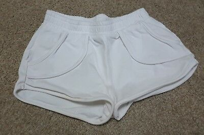 Girls Casual Summer Shorts White Age 5 Years