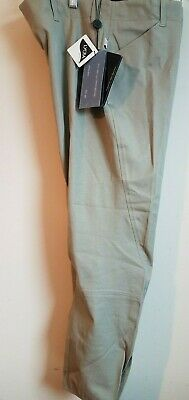 Ladies RIDING Low Rise Breeches size 32R NWT Hoof n Woof light tan side zip