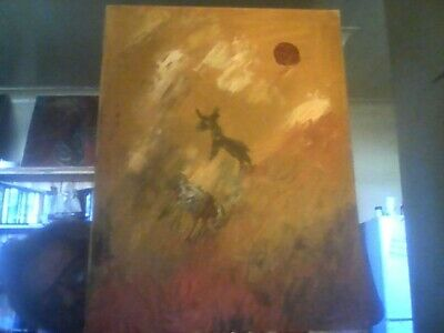 """Aboriginal painting by Pati on canvas """"Goanna Dreaming"""" signed comes with COA"""