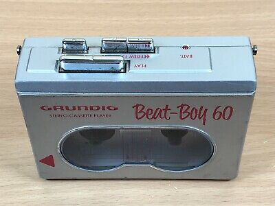 Grundig Beat Boy 60 Walkman Stereo Cassette Player Vintage Retro