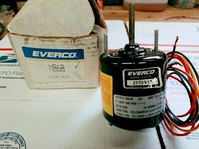 New Everco M868 Fan Motor