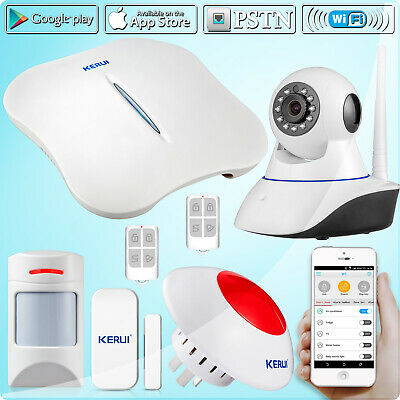 W1 Wireless WiFi 720P IP Camera Home Security Alarm System With Pet Immune PIR