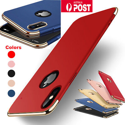 Luxury Shockproof Slim Thin Cover Hard Back Case Apple iPhone 8 7 Plus X 6s Plus