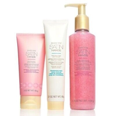 Mary Kay Blissful Pomegranate Limited Edition Satin Hands Set NEW