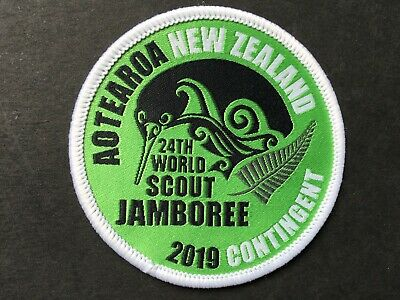 24th WORLD SCOUTJAMBOREE, USA 2019. NEW ZEALAND OFFICIAL CONTINGENT BADGE.