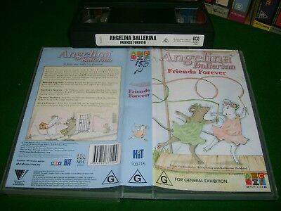 ANGELINA BALLERINA - FRIENDS FOREVER (5 Stories) - ABC For Kids Issue - on VHS!