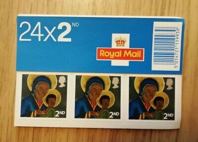 Royal Mail - Christmas 2005 Booklet of 24 Second Class Mint Stamps