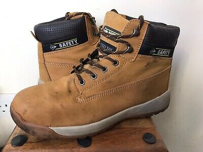 DUNLOP 'Honey' Steel Toe Safety Work Boots - Size 10 (44)