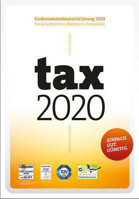 tax 2020 (für Steuerjahr 2019), Download, Windows