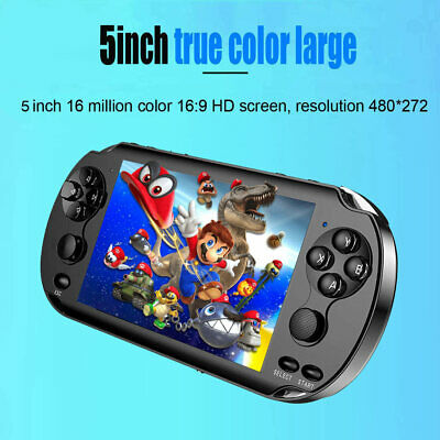 8GB Handheld Game Console Player Built-in 1000 Games 5.0'' Portable Consoles