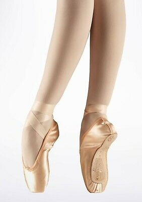 Freed of London Classic Demi Pointe Ballet Shoe, Pink, UK 2.5 XX, New