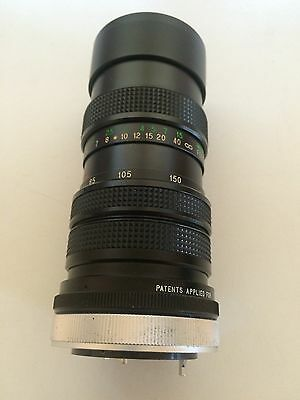 Canon Vivitar 70-150mm f3.8 lens FD Close Focus Zoom Automatic Fixed Mount Lens