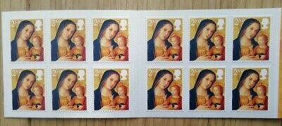 Royal Mail - Christmas 2013 Booklet of 12 Second Class Mint Stamps
