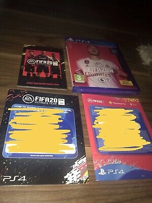 PS4 Fifa 20 Game Brsnd New With Extra Code