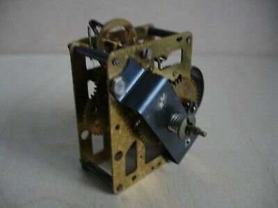 Vintage 30 hour clock work mechanism does work but may need a service.