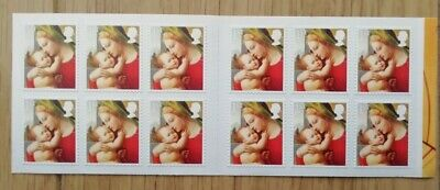 Royal Mail - Christmas 2013 Booklet of 12 First Class Mint Stamps