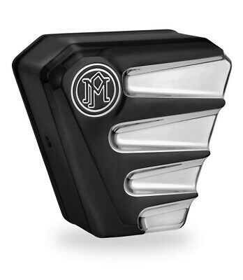 Performance Machine 0218-2001SCA-BMP Horn Covers Platinum Cut Scallop