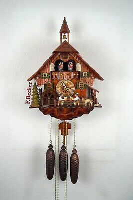 #2 Handmade Black Forest Cuckoo Clock - Chalet Style