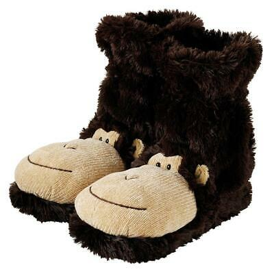 Fun For Feet Novelty Plush Slippers Fit 3-7 Aroma Home Dog Slippers Dalmatian