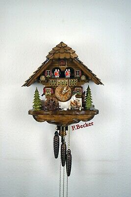 #2 Handmade Black Forest Cuckooclock - Chalet Style