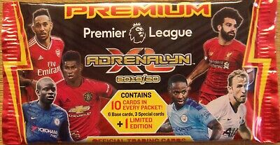Premier League Adrenalyn XL ~ Panini Trading Card Collection ~ Premium Pack