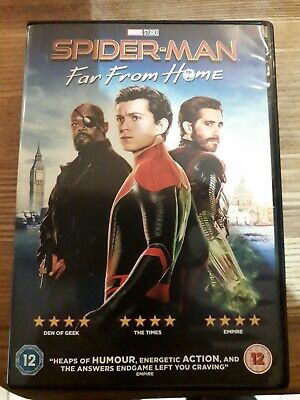 Spiderman far from home dvd