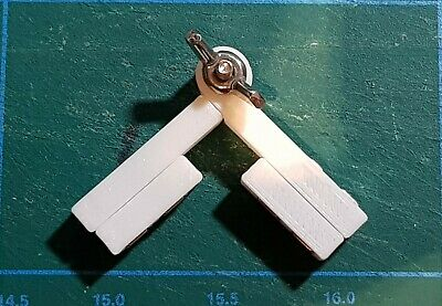 NEW Model Makers Adjustable Angle Magnetic Clamps (2 sets) - in 4 Sizes