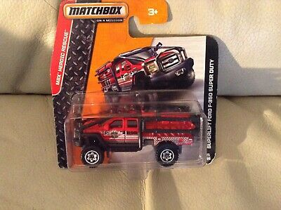 Matchbox Superlift Ford F-350 Super Duty mbx heroic rescue series
