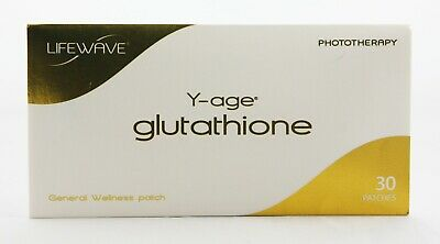 LifeWave Y-age Glutathione Phototherapy Patches, 30 Patches