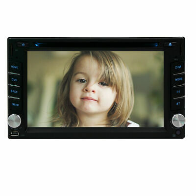 "HD 6.2"" Double 2Din In Dash Car Stereo DVD Player GPS Navigation BT Radio USB"