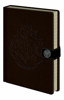 Harry Potter - Hogwarts Crest Premium A5 Notebook -240 lined pages NEW SEALED