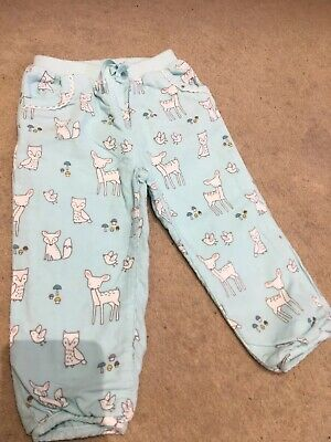 John Lewis 9-12 Months Girls/Boys Trousers Animal Theme Print Design