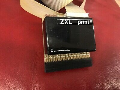 ZX SPECTRUM 48K RS232 PARALLEL PRINTER INTERFACE, Boxed