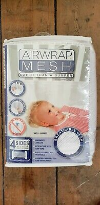 Air Wrap Mesb 4 Sides for baby crib/cot