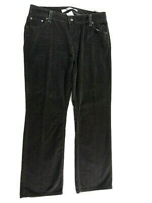 Gap Original Womens Brown Corduroy Boot Cut Jeans Size 16 Regular New