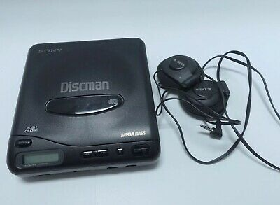 Sony Model D-11 CD Player Discman Compact.