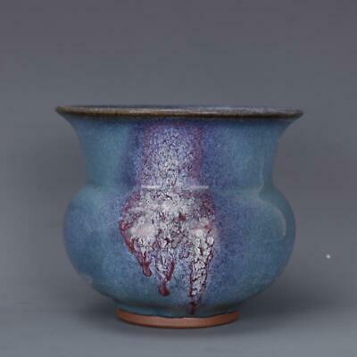 Chinese ancient antique hand make Spittoon Porcelain Decoration a261