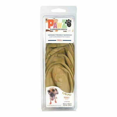 PawZ Protex Dog Boots Water-Proof Paws Disposable Reusable Small Camo