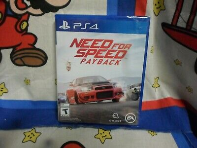 Playstation 4 Need For Speed Payback Game BRAND NEW SEALED