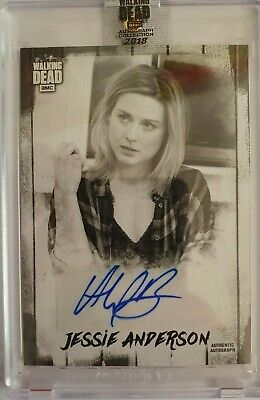 2018 Topps The Walking Dead Autograph Collection Alexandra Breckenridge 3/5